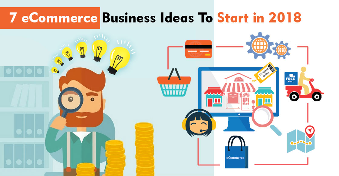 7 ecommerce business ideas to